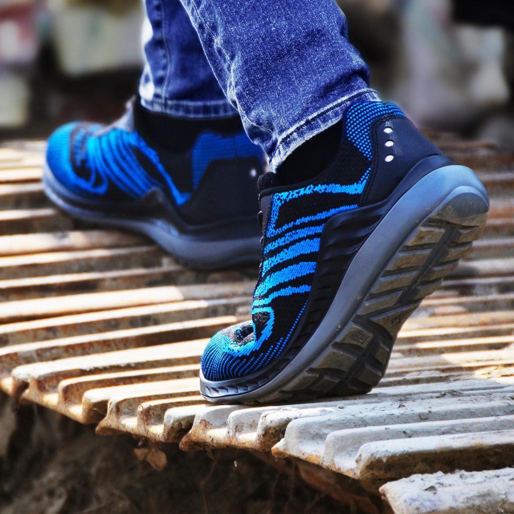 時尚針織安全鞋